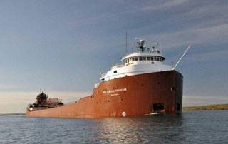 File M/V Hon. James L. Oberstar (Photo courtesy The Interlake Steamship Company)
