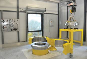 File MacArtney France's new Pressure Test Facility.