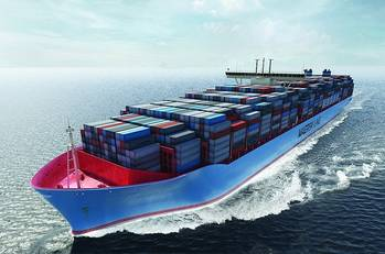 File Maersk Triple E-class: Image credit Wiki CCL