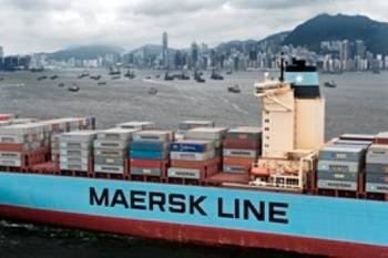 File Maersk Container Ship: Photo courtesy of Maersk Line