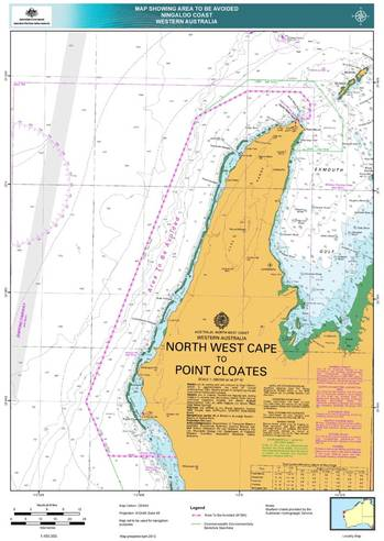 File Marine Notice Chartlet: Image credit AMSA