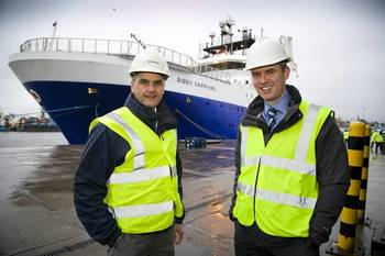 File Mark Fotheringham – E+P Director (Maersk) and Barry Macleod – Managing Director UKCS (Bibby Offshore)