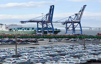 File Port of Baltimore Wharf: Photo courtesy of Maryland Dept of Transportation