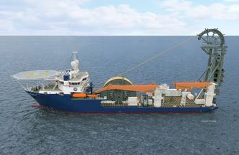 File McDermott's Lay Vessel 108 will be built at the Vigo, Spain, shipyard with vessel delivery expected around the third quarter 2014.