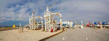 File Medgaz receiving terminal Spain: Photo credit ABB
