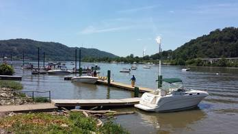 File Activity in the Wellsburg area over the 4th of July weekend. (Photo courtesy of Merco Marine)
