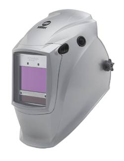 File newly redesigned Arc Armor Titanium Series welding helmets for heavy-use/high-amperage applications.