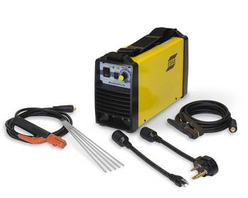 File The MiniArc 161LTS power source (Photo: ESAB).