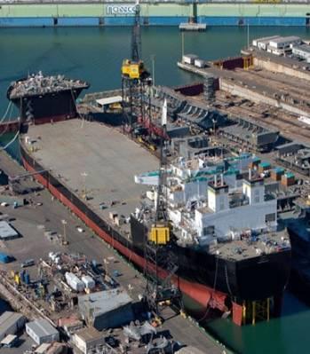 File USNS Montford Point: Photo credit NASSCO