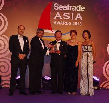 File Noboru Ueda - Seatrade Asia Awards 2013