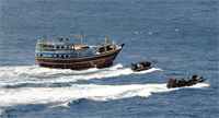 File NATO disrupts pirate mother ship responsible for the attack on MV Montecristo