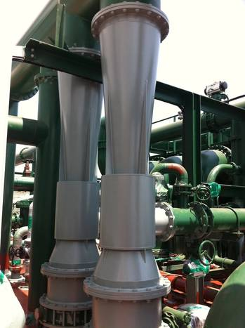 File Venturi Injectors for VOS-6000 Venturi Oxygen Stripping Ballast Water Treatment System