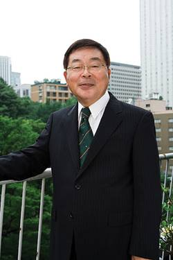 File ClassNK Chairman and President, Mr. N. Ueda (Credit: ClassNK)