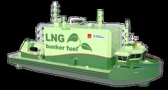 File LNG Bunker Barge Concept: Image credit NLI