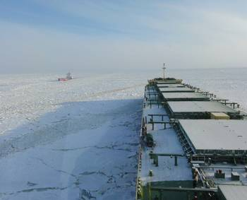 File Arctic shipping: CCL File Photo
