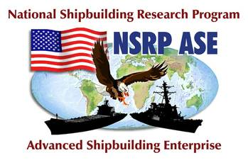 File The National Shipbuilding Research Program logo.