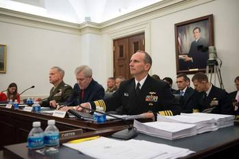 File ADM Greenert at the Hearing: USN Photo