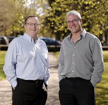 File (l-r) – Senergy has appointed the experienced pair of Dave Reed and Ian Williamson as vice presidents respectively in business efficiency and contracts & commercial.