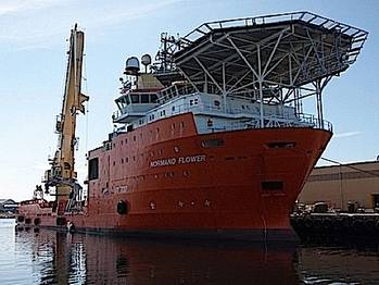 File Normand Flower: Photo courtesy of Solstad Offshore
