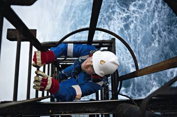 File Offshore rig worker: File image