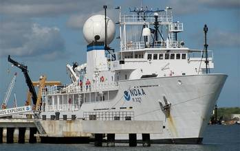 File Research ship: Photo courtesy of NOAA