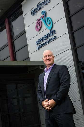 File Optimus Seventh Generation Chief Executive Derek Smith