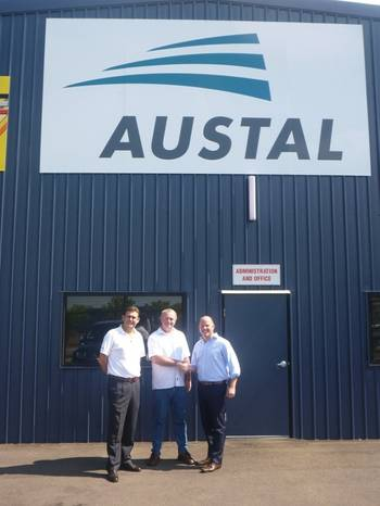 File Agreement Handshake: Photo credit Austal