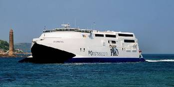 File P&O Express: Photo credit Blu Marine