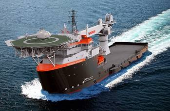 File GE to equip two multipurpose supply vessels at Eastern Shipbuilding Group