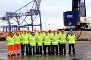 File The 13 Apprentices: Photo credit PD Ports