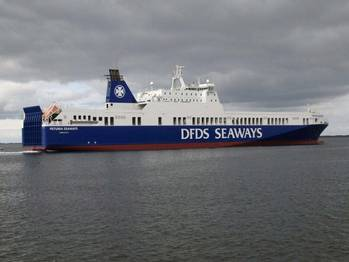 File RoRo Petunia Seaways: Photo courtesy of DFDS