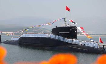 File PLA Navy submariners: Photo credit PLAN