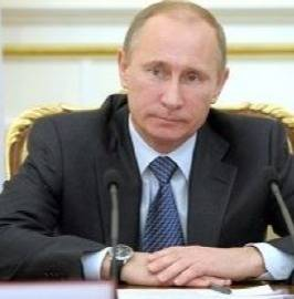File President Putin: Photo credit Government