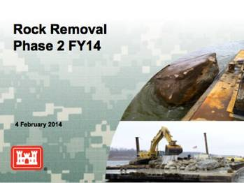 File Rock Removal information: Image courtesy of the contractors
