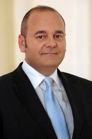 File Dr. Chris Cardona—Malta's Minister for the Economy, Investment & Small Business: Photo credit ISS