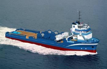 File A Harvey Gulf Vessel: Photo courtesy of Harvey Gulf