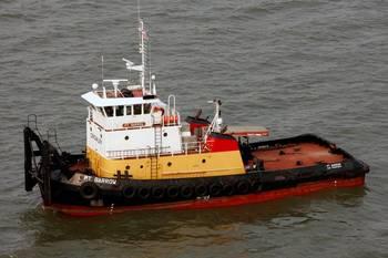 File ex-PT Barrow push-tug: Photo credit Marcon International