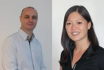 File Key account manager in the Aberdeen office of Ashtead Technology, Paul Morrison, and regional general manager in the Singapore office of Ashtead Technology,  Wendy Lee