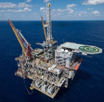 File Perdido Spar Platform: Photo credit Shell