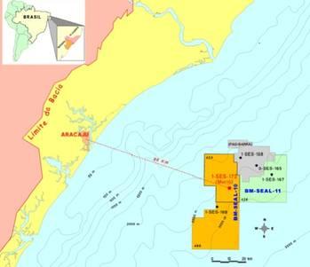 File Map Sergipe-Alagoas Basin: Image courtesy of Petrobas