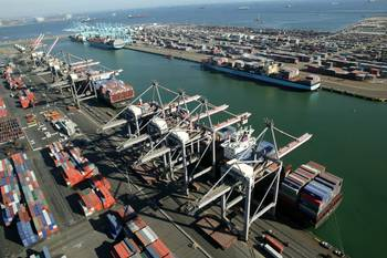 File Port Container Terminals: Photo credit Port of LA