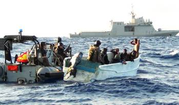 File Somali pirates arrested: Photo courtesy of EUNAVFOR