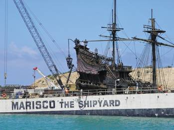 File MARISCO, Hawaii's largest private shipyard, was the proving ground for a new test eliminating waste water discharge.