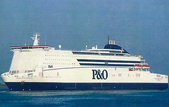 File Image credit P&O Ferries