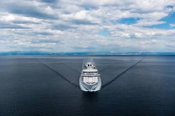 File Rendering of the new cruise ship courtesy of Princess Cruises