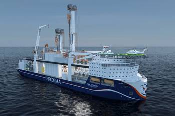 File Fincantieri Offshore is using AVEVA Marine software in the concept design phase of Proxima.