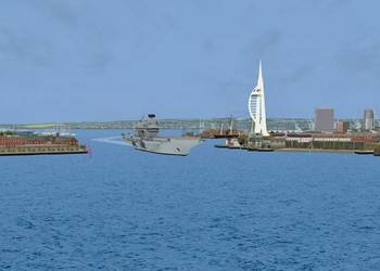 File Departing Portsmouth (Photo: BMT Isis Ltd.).