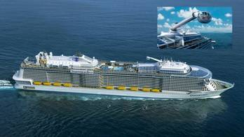 File Cruise liner Quantum lll: Design image courtesy of Meyer Werft