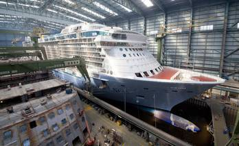 File photo: courtesy Meyer Werft