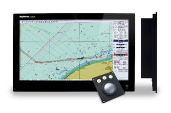 File ECDIS 24 display: Image credit  Raytheon Anschütz